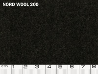 Tessuto Nord Wool colore 200 Moonless Night, 70% lana, 30% poliestere. Colore Pantone 19-4203