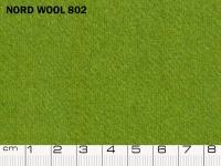 Tessuto Nord Wool colore 802 Peridot, 70% lana, 30% poliestere. Colore Pantone 17-0336