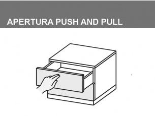 Apertura push and pull