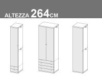 altezza 264cm