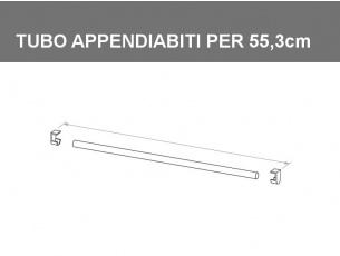 Tubo appendiabiti per vano da 55,3cm