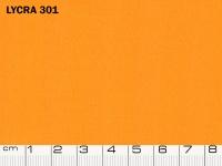 Tessuto Lycra 301 Bright Marigold, 80% Poliammidica, 20% Elastan. Colore Pantone 15-1164