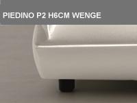 Piedino P2 H6cm Wenge
