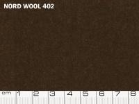 Tessuto Nord Wool colore 402 Slate Black, 70% lana, 30% poliestere. Colore Pantone 19-0814