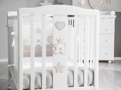 Dettaglio testata lettino Baby Re