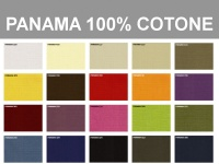 Campionario tessuto Panama 100% cotone