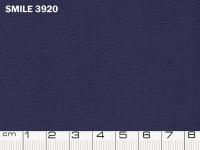 Tessuto Smile colore 3920 Navy, 100% poliestere. Colore Pantone 19-3933