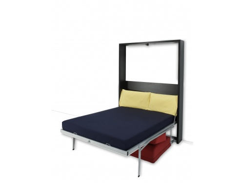 Letto matrimoniale SmartBeds Houdini a ribalta verticale con divano sfoderabile