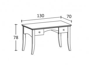Misure tavolino scrittoio