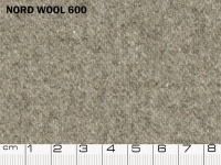 Tessuto Nord Wool colore 600 Neutral Gray, 70% lana, 30% poliestere. Colore Pantone 17-4402