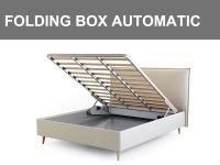 Box contenitore Folding Box con sistema di apertura automatico tramite un bottone