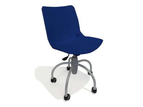Sedia moderna per bambini su ruote modello Baby Blu