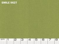 Tessuto Smile colore 9627 Green, 100% poliestere. Colore Pantone 18-0430