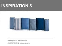 Inspiration 5 combinazione sulle tonalità di Blu