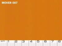 Ecopelle Mover colore 07 Orange, colore Pantone 16-1150