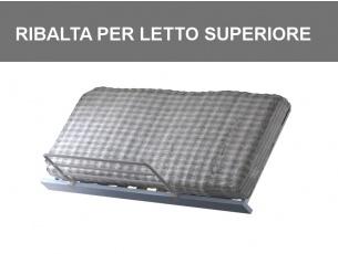 Meccanismo di ribalta per letto superiore
