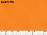 Tessuto Smile colore 9255 Orange, 100% poliestere. Colore Pantone 15-1150