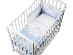 Completo tessile Baby Re Azzurro
