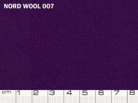 Tessuto Nord Wool colore 007 Petunia, 70% lana, 30% poliestere. Colore Pantone 19-3632