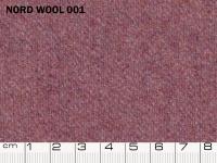 Tessuto Nord Wool colore 001 Purple Wine, 70% lana, 30% poliestere. Colore Pantone 18-2929