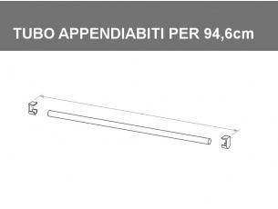 Tubo appendiabiti per vano da 94,6cm