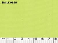 Tessuto Smile colore 9525 Apple Green, 100% poliestere. Colore Pantone 13-0624