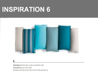 Inspiration 6 combinazione sulle tonalità di Azzurro