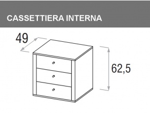 cassettiera interna