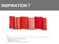 Inspiration 7 combinazione sulle tonalità di Rosso
