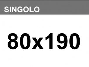 Materasso anallergico sfoderabile Armonia singolo 80x190 H23cm