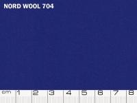Tessuto Nord Wool colore 704 Princess Blue, 70% lana, 30% poliestere. Colore Pantone 19-4150