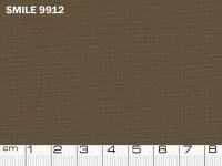Tessuto Smile colore 9912 Brown, 100% poliestere. Colore Pantone 19-0814