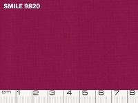 Tessuto Smile colore 9820 Fuchsia Cream, 100% poliestere. Colore Pantone 19-2431