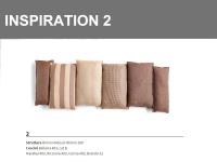 Inspiration 2 combinazione sulle tonalità di Marrone