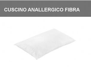 Cuscino anallergico in poliestere con fodera 100% cotone