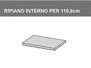 Ripiano interno per vano da 110,6cm