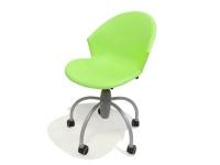 Sedia gim con seduta avvolgente e comoda Verde