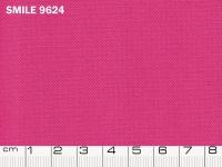 Tessuto Smile colore 9624 Pink, 100% poliestere. Colore Pantone 17-2227