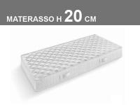 Materasso Brio ortopedico a molle sistema Bonnell H20cm
