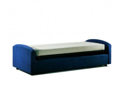 Divano Letto Oplà, divano a 3 posti che si trasforma in un pratico letto singolo