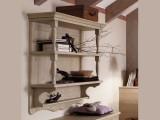Librerie pensili in legno massello